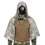 New TTGTACTICAL GH28 CP Camouflage Military Sniper Ghillie Suit Foundation Outdoor Hunting Tactical Airsoft Sniper Ghillie Jacket