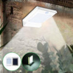 New Solar Power 106 LED Motion Sensor Garden Security Lamp Outdoor Waterproof Wall Light