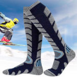 New Men Women Sport Skiing Socks Thickening Calf Tube Socks