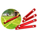 New IPRee® 6Pcs/set Aluminum Alloy Outdoor Camping Tent Wind Rope Stick Stopper Buckle Cord Accessories