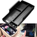 New Car ABS Central Armrest Console Storage Box Container for Toyota Camry 2012-2015