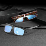 New Men Women Multipurpose Clamshell HD Anti-UV Reading Glasses