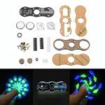 New 3pcs DIY LED Hand Spinner Electronic Kit C51 Single Chip Training Kit