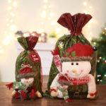 New Christmas Bucket Bag Snowman Elk Christmas Eve Gift Bag