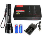New WARSUN X80 XHP50 2500LM Rechargeable Militar Fan Tactical Hunting Flashlight Powerful High Lumen Brightness LED Torch