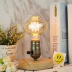 New E27 BTR80 40W Vintage Edison Retro Filament Incandescent Decorative Light Bulb AC220V