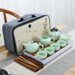 New Portable Travel Kung Fu Tea Set Handmade Chinese Porcelain Tea Cup