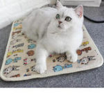 New Waterproof Pet Heated Warmer Bed Pad Puppy Dog Cat Bed Mat Electric Heater Mat Pet Mat