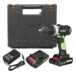 New 25V Electric Screwdriver 3.0Ah Li-ion Battery Rechargeable Cordless Drill 2 Speed