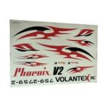 New Volantex Phoenix V2 759-2 2000mm Wingspan RC Airplane Spare Part Decals 1 Piece