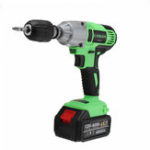 New 98/128/188VF Brushless Cordless Impact Wrench Drill LED Light Li-Ion Battery Electric Impact Wrench