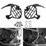 New Auxiliary Fog Light Frame Protector Guards Lamp Cover For BMW R1200GS F800GS