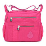 New Women Leisure Nylon Solid Crossbody Bag Waterproof Bag
