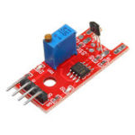 New KY-024 4pin Linear Magnetic Switches Speed Counting Hall Sensor Module for Arduino