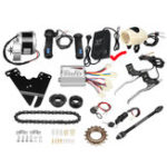New 36V 250W Motorized Electric Bike Motor Controller with Charger E-Bike Scooter Conversion Kit