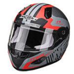 New NENKI 856 Motorcycle Racing Helmet Full Face Dual Lens Fiberglass Anti-fog Warm