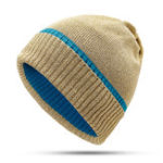 New Women Outdoor Fashion Bronzing Knitted Hat Warm Knit Cap
