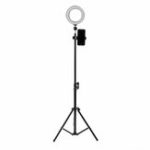 New 16cm LED Video Ring Light 5500K Dimmable with 160cm Adjustable Light Stand