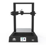 New HUAXU3D® X2 DIY 3D Printer Kit with 300mm*300mm*400mm Print Size/3.5-inch Colorful Screen Support SD Card Connect/Power Resum Fuction