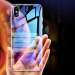 New Bakeey Clear Tempered Glass Protective Case For iPhone XR/XS/XS Max/X/8/8 Plus/7/7 Plus