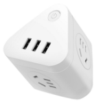 New Deli Power Conversion Socket Connector USB Wireless Plug Intelligent Charge Security Protection