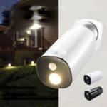 New Solar Power Body Induction Sensor Wall Lamp Waterproof Garden Street Light