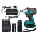 New 3 in 1 Cordless Electric Impact Wrench 21V 330Nm 10000mAh Li-Ion Battery LED Light  Impact Wrench