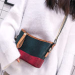 New Snake Pattern Faux Leather Crossbody Bag For Women