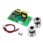 New AC 110V 100W Ultrasonic Cleaner Driver Power Board With 2Pcs 50W 40K Transducer Rectangle