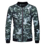 New Mens Army Camo Printing Loose Fashion Outdoor Sports Jacket
