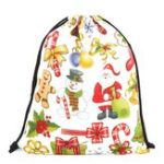 New Christmas Backpack Shoulder Bag Drawstring Bag For Women Bag