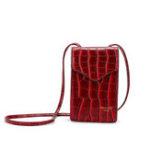 New Women Crocodile Pattern Shoulder Bag PU Leather Bag