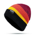 New Unisex Double Knit Rainbow Color Skiing Hat Fashion Knit Hat