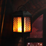 New 96 LED Solar Flame Flickering Lamp Outdoor Landscape Garden Decor Lantern Light