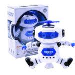 New Electronic Walking Dancing Smart Space Robot Astronaut Kids Music Light Developemental Gift Toys