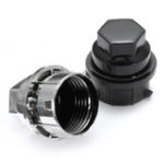 New 1/5/10/20 x 24mm Plastic Wheel Lug Nut Cover Cap