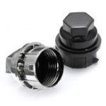 New 1/5/10/20 x 24mm Plastic Wheel Lug Nut Cover Cap