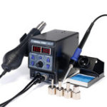 New YIHUA 8786D I Upgrade Rework Station Digital Display Iron SMD Heat Hot Air Soldering Station Welding