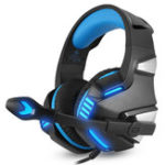 New Hunterspider V3 3.5mm Wired LED Gaming Headphone Noise Cancelling With Mic For Laptop PS4 Xbox One