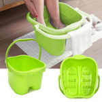 New Rolling Massage Sturdy Plastic Bucket Foot Spa Bath Massager