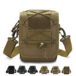 New Men Nylon Waterproof Tactical Camo Outdoor Crossbody Bag