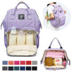 New Diaper Bag Backpack Waterproof Durable Multifunctional Bag