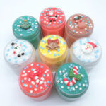 New 60ML Christmal Cloud Slime Scented Charm Mud Stress Relief Kids Clay Toy