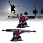 "New 1 Pair 180mm 7"" 43 Degree Longboard Trucks Electric Skateboard Hanger Parts"
