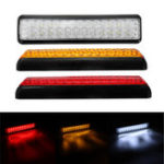 New 12V 1.5W 24LED Car Trunk Rear Tail Light Brake Indicator Turn Signal Side Marker Lamp