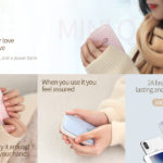 New Baseus M25N 2 in 1 Winter Pocket Hand Warmer 10000mAh Power Bank 2A Fast Charge External Battery