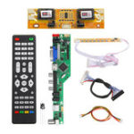 New T.RD8503.03 Universal LCD LED TV Controller Driver Board TV/PC/VGA/HDMI/USB+7 Key Button+2ch 8bit 30 LVDS Cable+4 Lamp Inverter