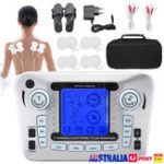 New Tens Unit Muscle Stimulator Electrode Digital Massager