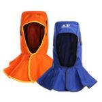 New Flame Retardant Safety Helmet Welding Neck Hood Welder Head Protective Cap Cover