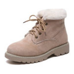 New Women Winter Snow Boots Warm Fur Liner Ankle Boots